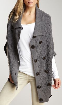slouchy cardigan / Wilster