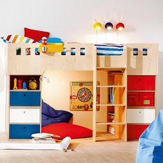 Bett Rudi Set 2, Natur. Kinder MöbelKinderzimmer Deko BettenProdukteNaturMöbel