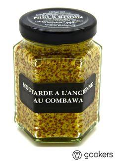 Moutarde à l'ancienne au combawa