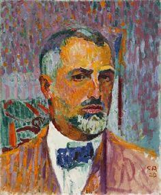 Self-Portrait - Cuno Amiet