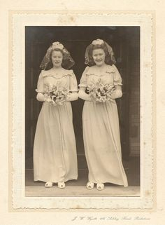Large collection from this Wedding..J.W.Wyatt, 116 Ashley Road, Parkstone  (in the Poole area of Dorset) Lovely Couple