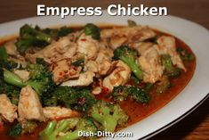 Chinese fried wontons by dish ditty dish ditty recipes pinterest empress chicken broccoli by dish ditty recipes chinese food forumfinder Gallery