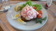 All sizes | Open Faced Shrimp Sandwich | Flickr - Photo Sharing!