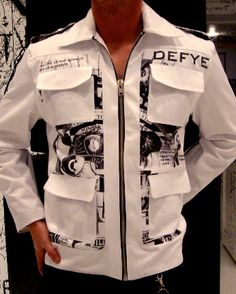 DEFYE Clothing.... Awesome designer brand... Acronym for DEFine Your own Existence!!!!