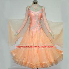NEW-Standard-Waltz-Tango-Smooth-Latin-Ballroom-Competition-Dance-Dress