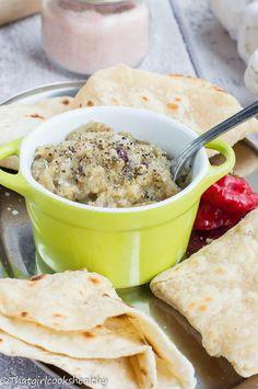 Baigan choka - Trinidadian eggplant dip