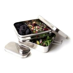 Eco Lunchbox - Breadcrumb stainless steel - 3-in-1 Giant