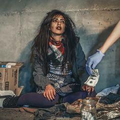 #homeless homeless high fashion editorial photography unique concepts bizarre  www.facebook.com/detroitbird
