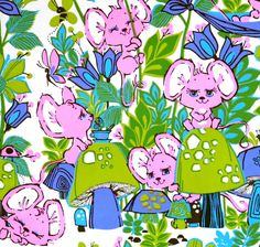 Vintage Occasional  Birthday  Gift Wrap  by MidCenturyAddiction