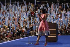"""28,003   The number of tweets per minute once Michelle Obama's speech ended, or """"about double the number after Romney's acceptance speech last week, which was 14,289 tweets per minute at its peak,"""" reports USA Today."""