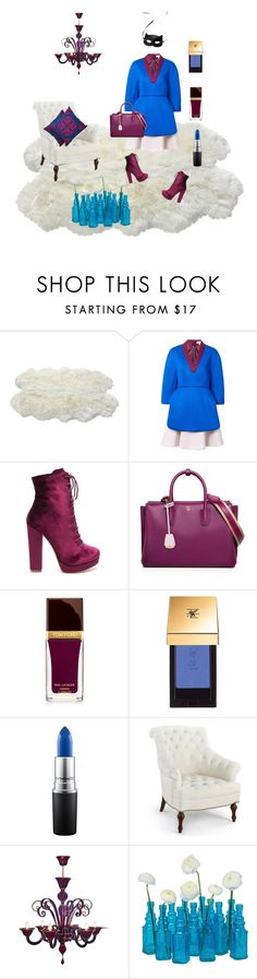 """""""Three colors"""" by teresa-ramil ❤ liked on Polyvore featuring Delpozo, MCM, H&M, Tom Ford, Yves Saint Laurent, MAC Cosmetics, Bungalow 5, Cultural Intrigue and NOVICA"""