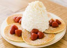 エッグスンシングスといえば!のボリューム満点パンケーキ