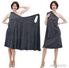 как сшить простое пляжное платье, летнее платье выкройка,