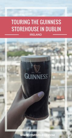 There's nothing quite as good the perfect pour of a pint of Guinness. Here's some insider tips for your visit to the Guinness Storehouse in Dublin, Ireland.