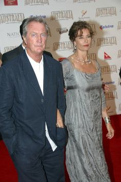 Bryan Brown and Rachel Ward turning out for the red carpet world ...