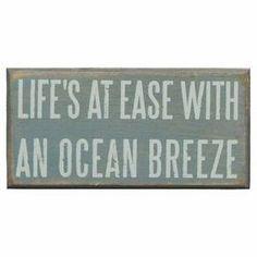 Ocean Breeze Wall Decor