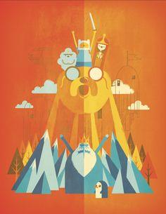 """""""What Time Is It?"""" by Jorsh Pena, Adventure Time fan art"""