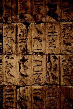 Hieroglyphics. Photo By David Hanjani