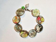glass beads bracelet live. love. scrap.: