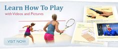 Learn how to play squash