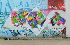 Vandalog – A Street Art Blog » Graffiti Geometry