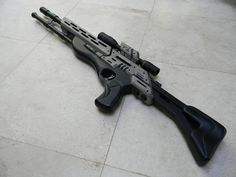 Mass Effect M97 Viper Sniper Rifle Prop by zanderwitaz.deviantart.com on @deviantART
