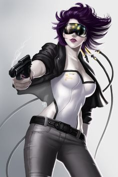 Ghost In The Shell  by Nazuroth.deviantart.com on @DeviantArt