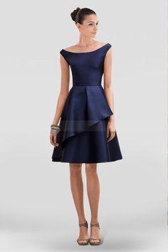 9c313e78dc0 Elegant A-line Homecoming Dress with Scoop Neckline
