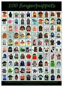 100 fingerpuppets, a poster from the Poison Pie Publishing House