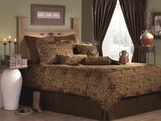 Victor Mill El Paso Bedding - Best Sales and Prices Online! Home Decorating Company has Victor Mill El Paso Bedding Western Bedding Sets, Rustic Bedding, Designer Comforter Sets, Southwestern Bedding, Southwestern Style, Daybed Sets, Western Decor, Western Shop, Western Theme