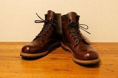 Pocket: ブーツのお手入れ。 レッドウィング ベックマン RW9011