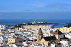View from Tavira Tower Cádiz © Olbertz/WikiCommons