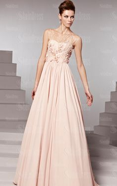 Simple Floor Length Yellow/Champagne Evening Prom Dress LFYAK0234, Shop Prom with SheinDress.co.uk