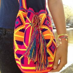 Wayuu Mochila Bag, Love it!