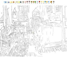 Paint by Number Coloring Books Beautiful Make A Van Gogh Paint by Numbers Artwork Adult Color By Number, Color By Number Printable, Color By Numbers, Paint By Number, Avengers Coloring Pages, Free Adult Coloring Pages, Colouring Pages, Coloring Books, Alphabet Coloring