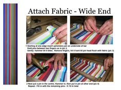Recover a Deckchair | How to Recover Deckchairs by Deckchairstripes
