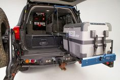 MSA 4x4 4WD Platinum Heavy Duty Fridge Generator Tool BOX Drop Slide DS60 | eBay