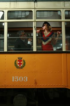 'Milan Tram Shoot Photograph 31', photographic study for Jack Vettriano's 'The…