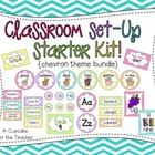 Decorate your classroom in bright chevron!  This starter kit includes 100+ pages of everything youll need to get your room ready!    This is a ZIP f...