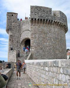 The mighty Minčeta Fort on Dubrovnik City Walls.