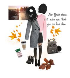 """""""Autumn. Charm."""" by look-awesomeness ❤ liked on Polyvore featuring WithChic, Thierry Mugler, Chicwish, Jennifer Behr, Grafea, ban.do and OUTRAGE"""