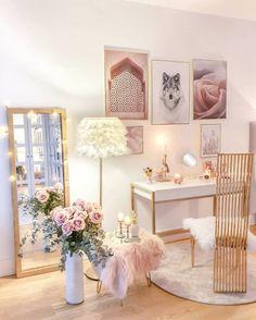 Study Room Decor, Home Decor Bedroom, Living Room Decor, Lounge Design, Living Room Inspiration, Inspiration Wall, Girl Room, Decoration, Instagram