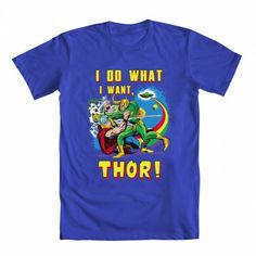 #Marvel #Thor Sibling Rivalry Tee