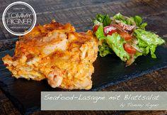 Seafood Lasagne foodporn kärnten küche kochen, ohne Fleisch, Fisch, vegetarisch, vegan Burger, Seafood, Meat, Chicken, Lasagne, Leafy Salad, Fish, Easy Meals, Koken