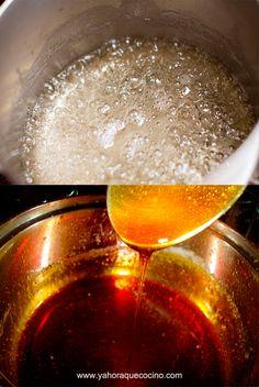 Cómo hacer Almíbar y Caramelo