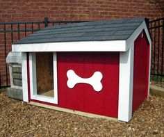 Even a dog could use a cool house!