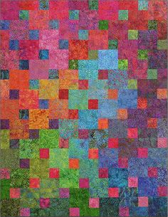 Gorgeous! From a site with FQ- (or strip-) friendly patterns for good-looking quilts