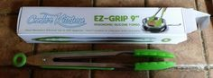 EZ-Grip Tongs, love these!