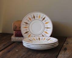 vintage+midcentury+dishes | Mid Century Plates Dishes Vintage Retro Mikasa Nordic Cera-Stone Japan ...