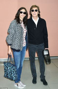PAUL MCCARTNEY IN JAPAN 2017 with wife Nancy Shevell